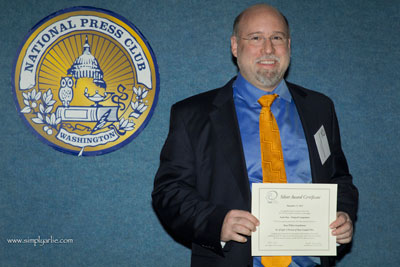 Composer Brian Wilbur Grundstrom wins Peer Award